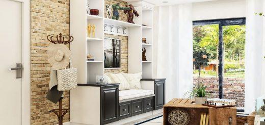meuble industriel dans la maison